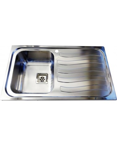 Lavello da cucina in acciaio inox DavLux